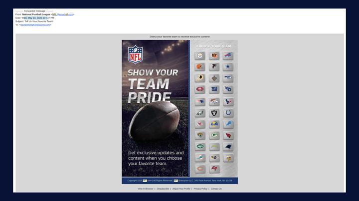 Chalkline Sports January 2021 webinar NFL