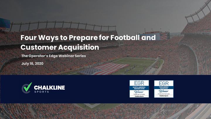 Chalkline Sports sports betting customer acquisition football