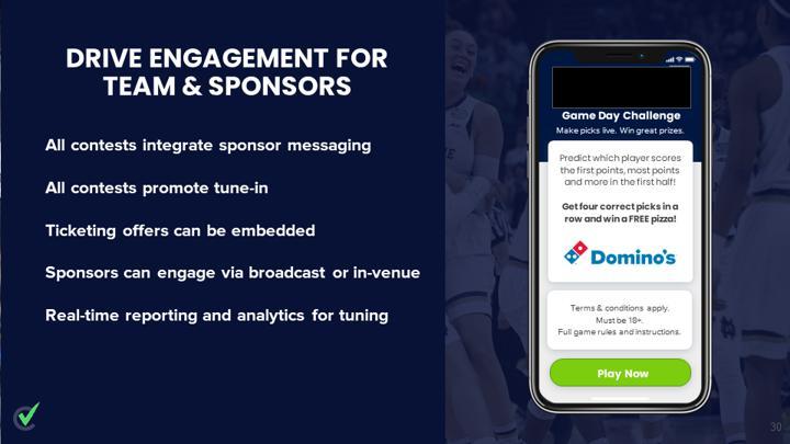 Chalkline Sports sports betting sponsorship buyers