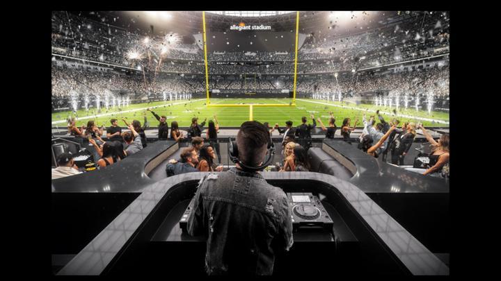 Chalkline webinar Las Vegas Raiders Allegiant Stadium VIP section