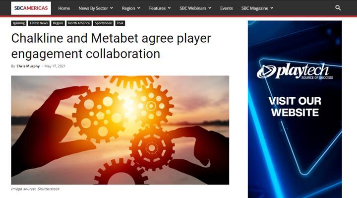 Chalkline Metabet partnership