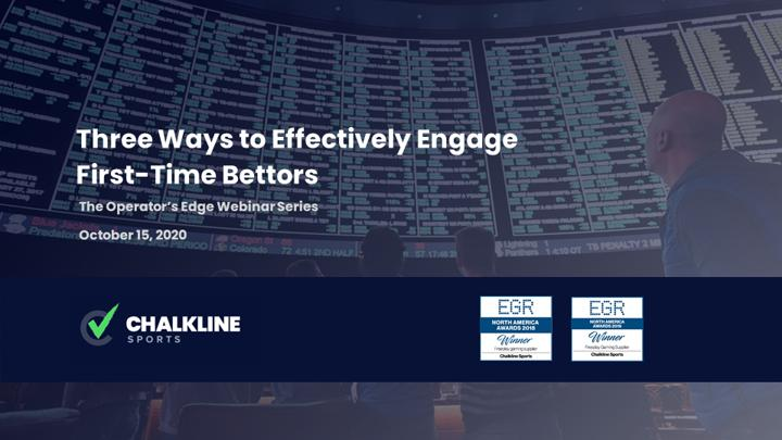 Chalkline Sports engage first-time bettors webinar