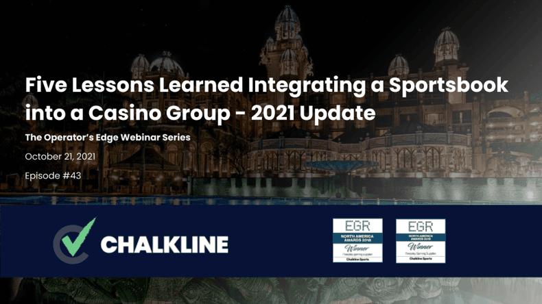 Chalkline October 2021 webinar