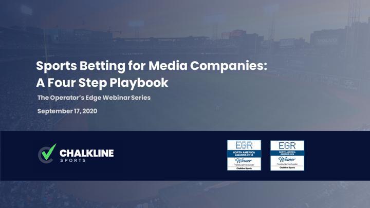 Chalkline Sports sports betting for media companies webinar