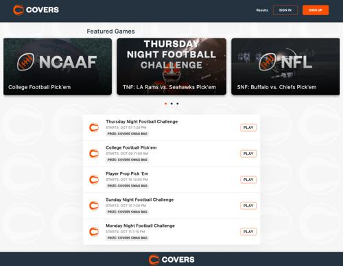 covers freeplay contest games lobby