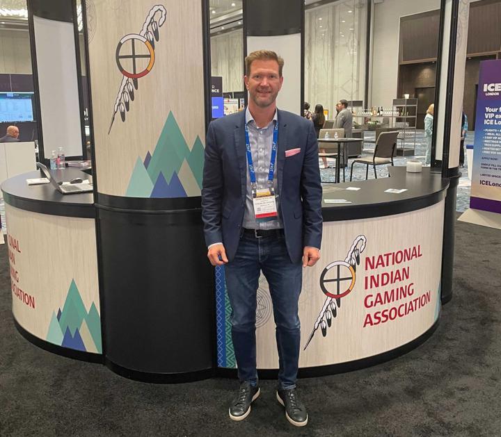Chalkline CEO Daniel Kustelski at NIGA 2021