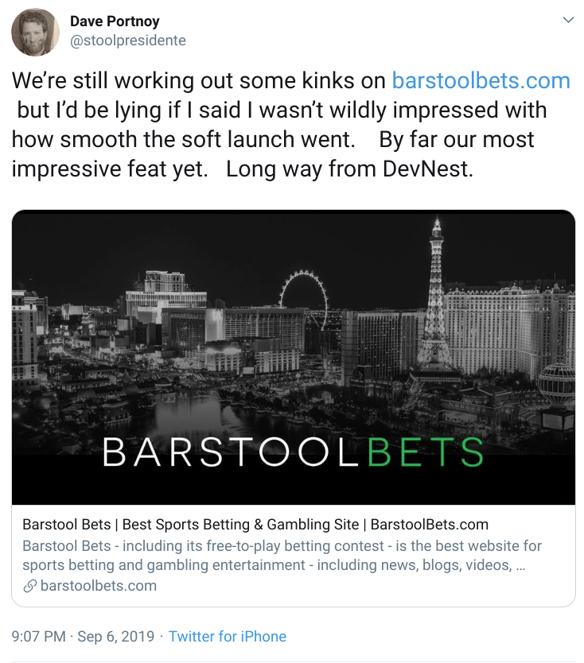 Chalkline Barstool Sports case study