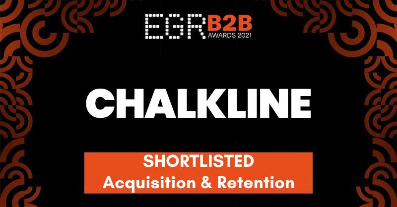 Chalkline Recognized on EGR B2B Awards 2021 Shortlist