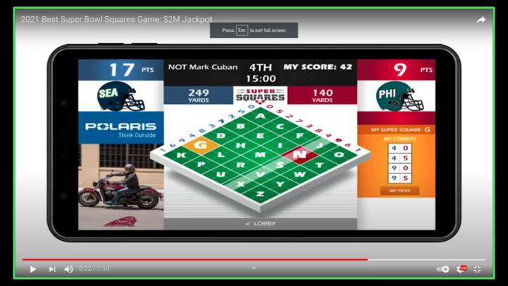 Chalkline Sports freeplay webinar screenshot