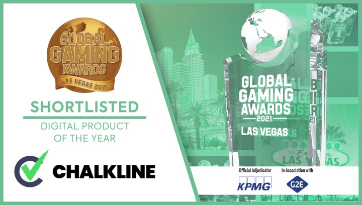 Chalkline Shortlisted for Global Gaming Awards Las Vegas 2021