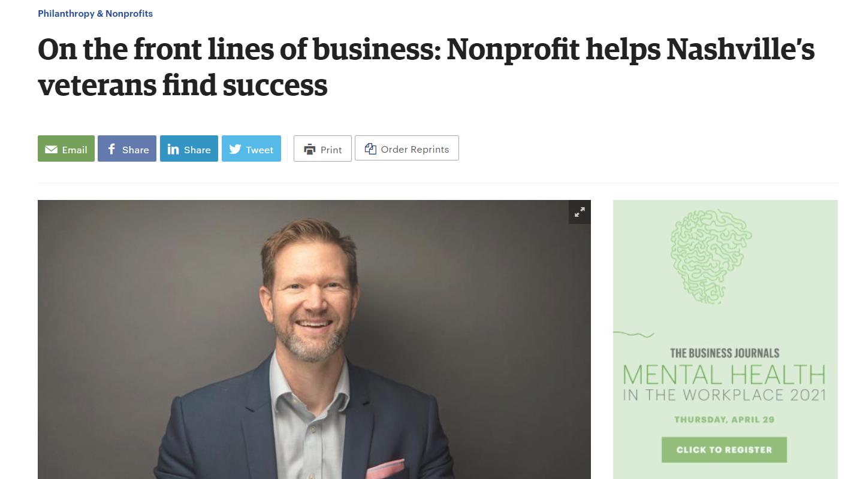 CEO Daniel Kustelski Featured in Nashville Business Journal