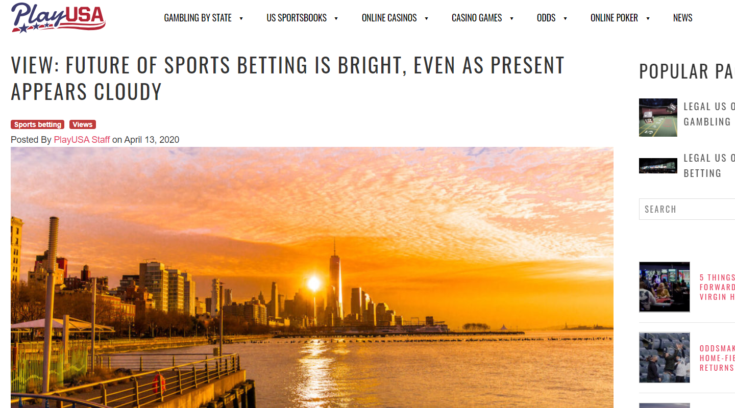 Future of Sports Betting Is Strong, Says Chalkline CEO Daniel Kustelski in Conversation with PlayUSA