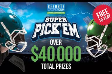 Resorts NFL Super Pickem