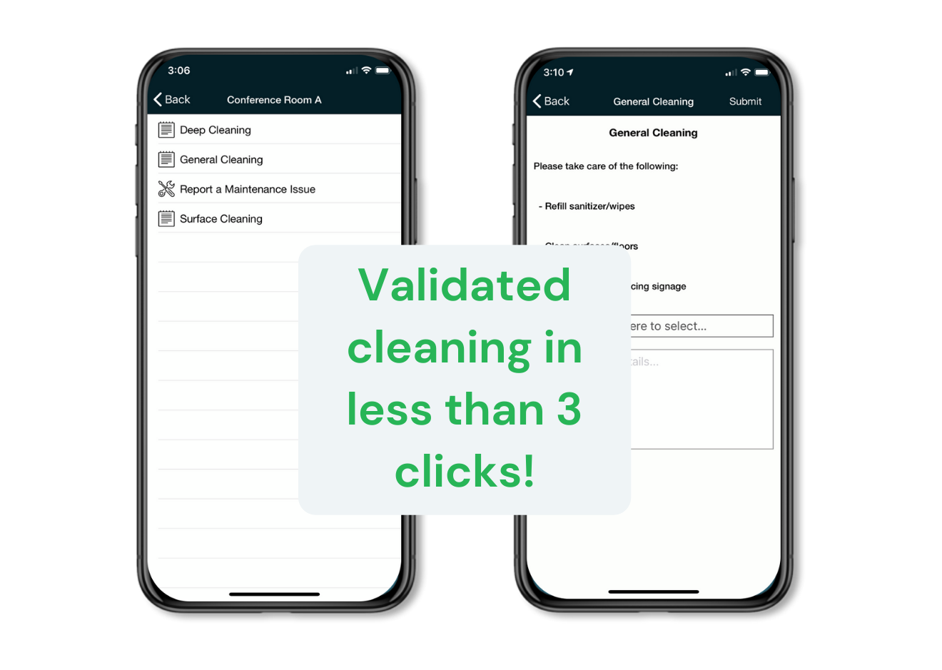 Validated Cleaning CrowdComfort