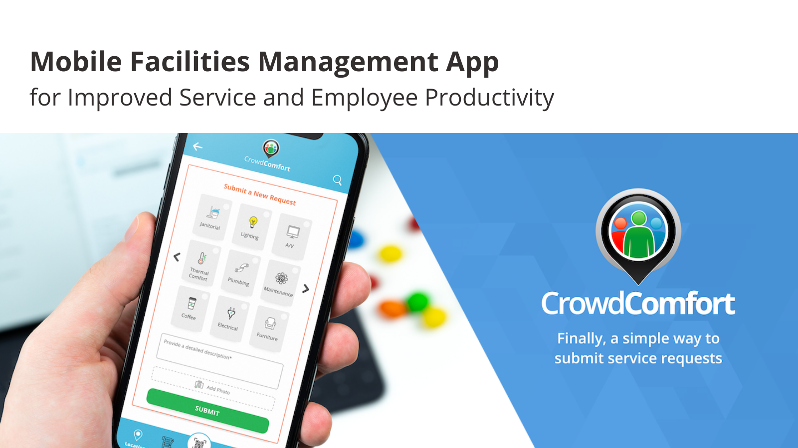 Workplace Request Mobile App Two Pager