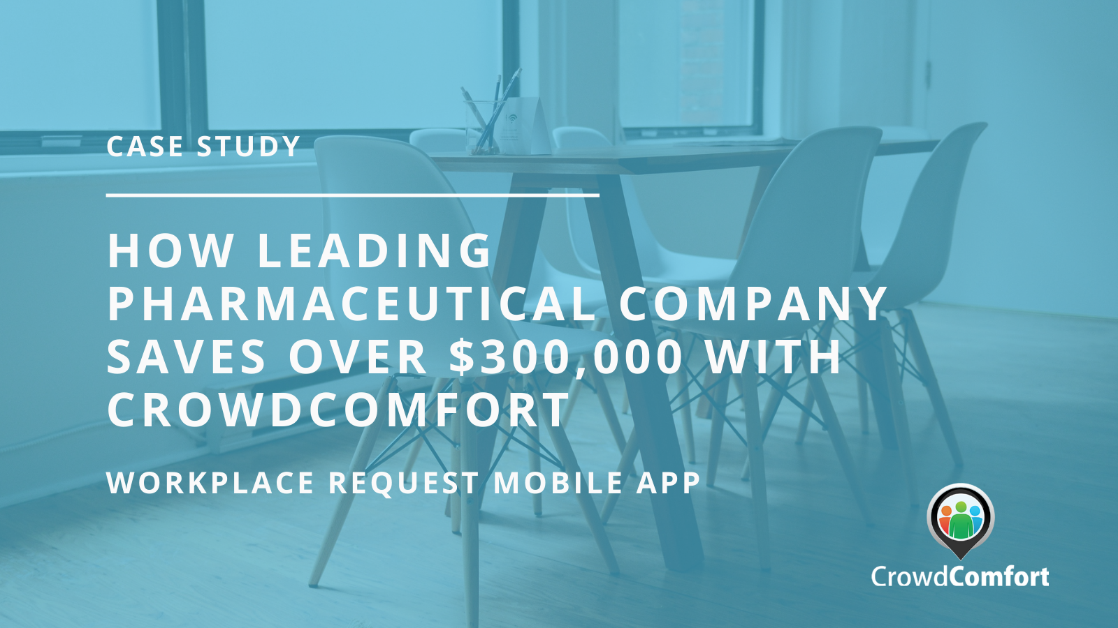 How a Pharma company saved $300,000 annually with mobile workplace requests