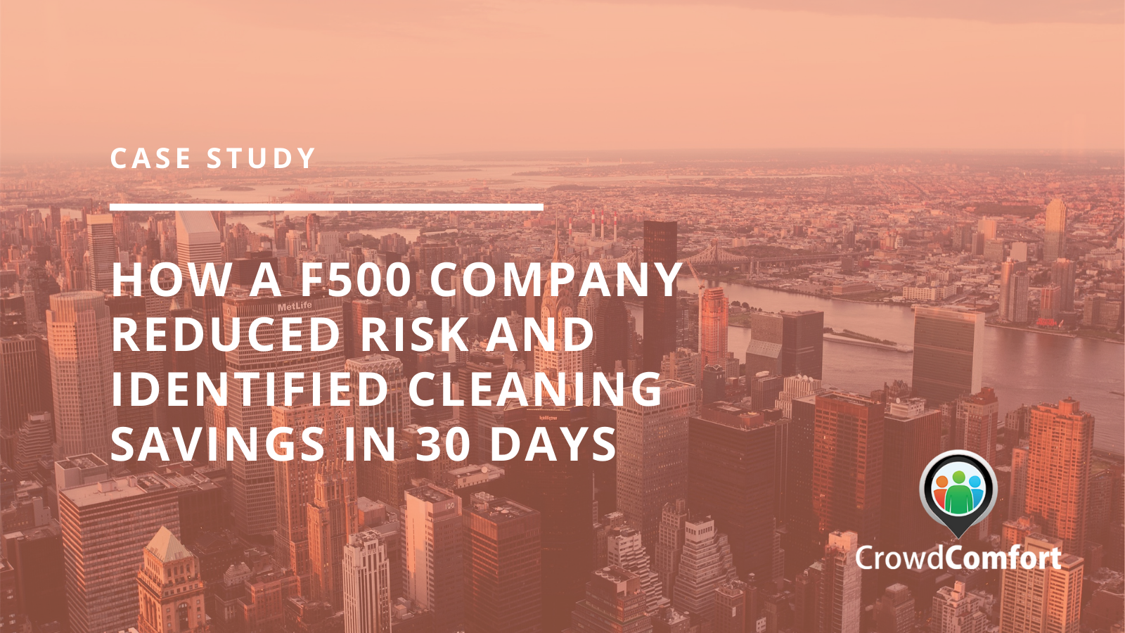 F500 Company Reduced Risk and Identified Cleaning Savings in 30 Days