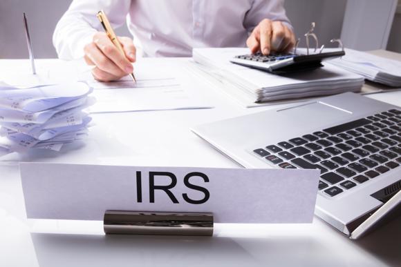 IRS desk