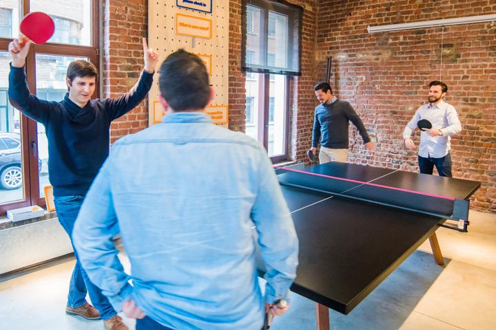 ping pong in office