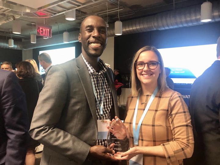 sarah bedrick & andrew innocent new england innovation award finalist 2019