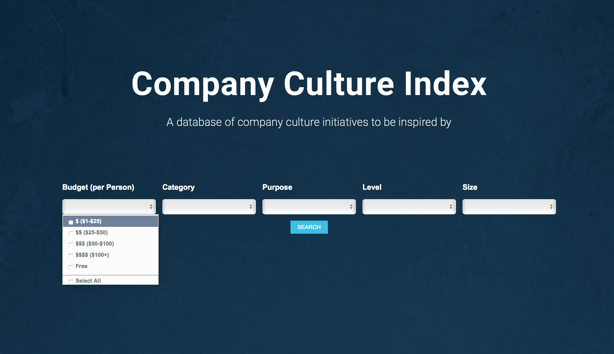company culture ideas index