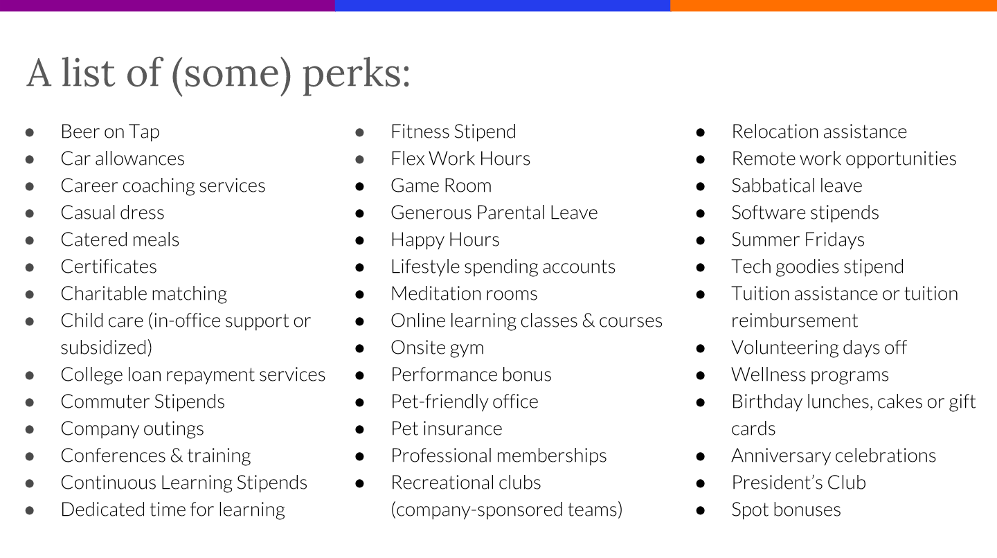 How to use Perks to Increase Employee Retention | Compt