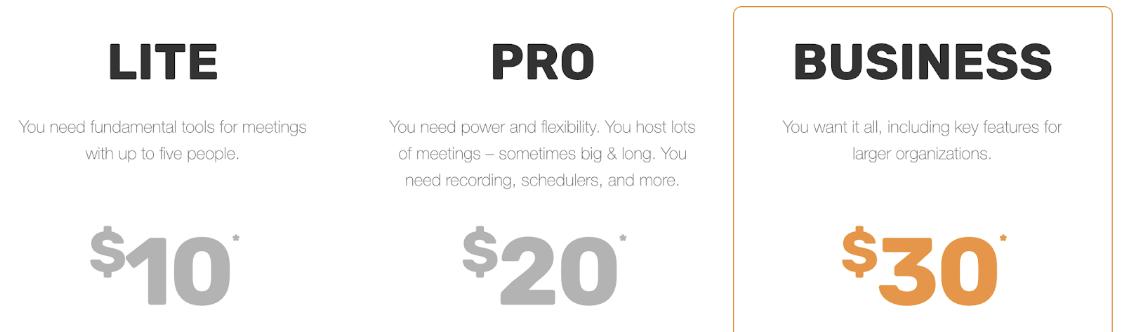 Join.me pricing plan