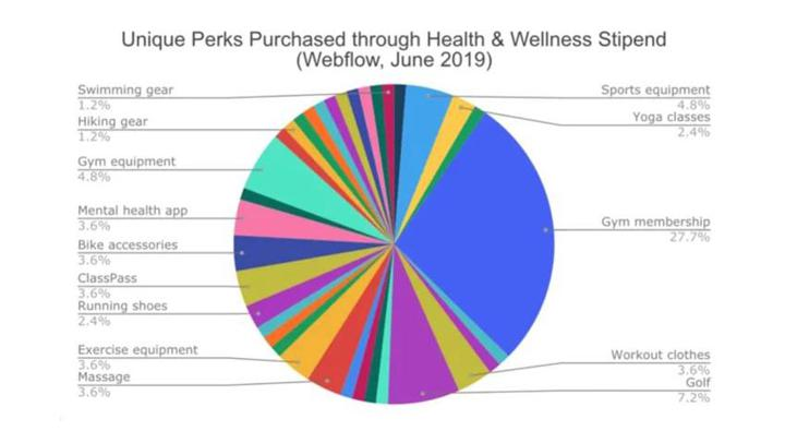 webflow health and wellness stipend compt
