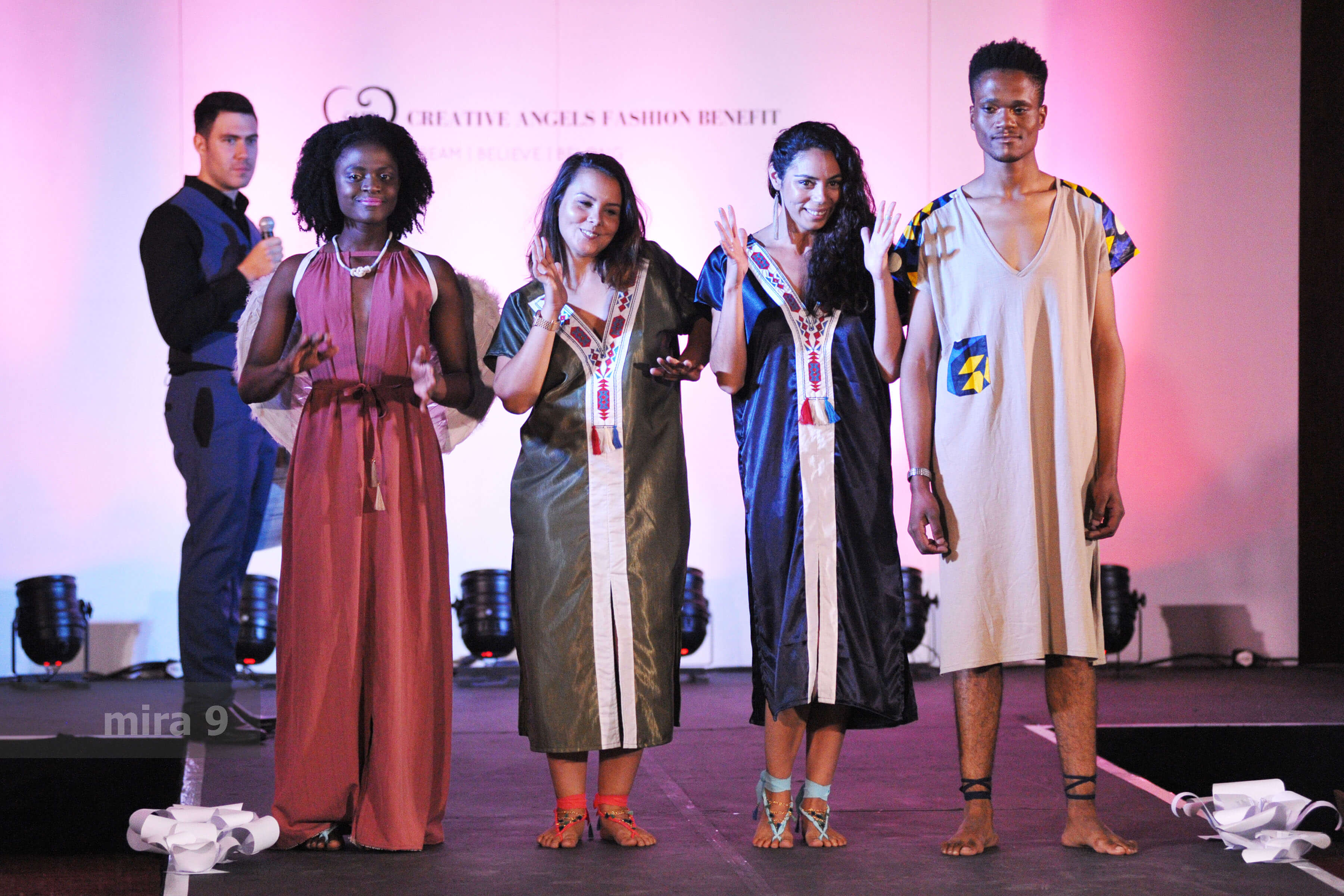Why do CAFB Fashion Shows start with SA's national anthem?