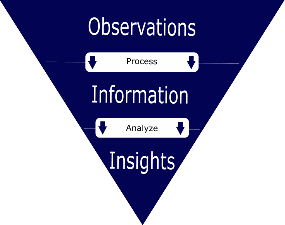 Insights, Information, and Observations