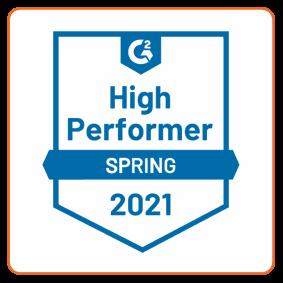 G2 High Performer | Spring 2021 | Defendify