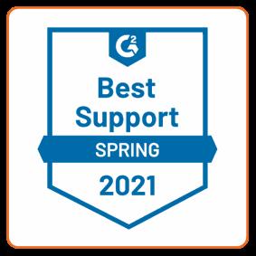 G2 Best Support | Spring 2021 | Defendify