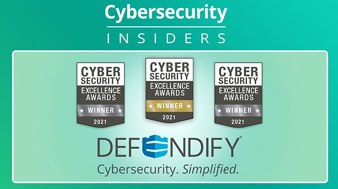 Defendify Captures Three Cybersecurity Excellence Awards