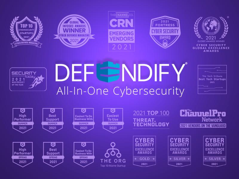 Defendify's Innovative Cybersecurity Solution Earns Twentieth Accolade of 2021