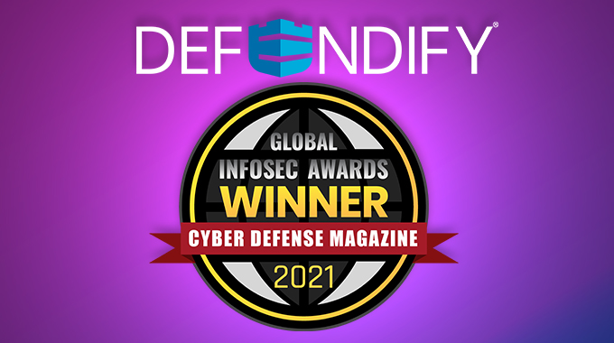 Defendify Wins 2021 InfoSec Award | Best SMB Cybersecurity