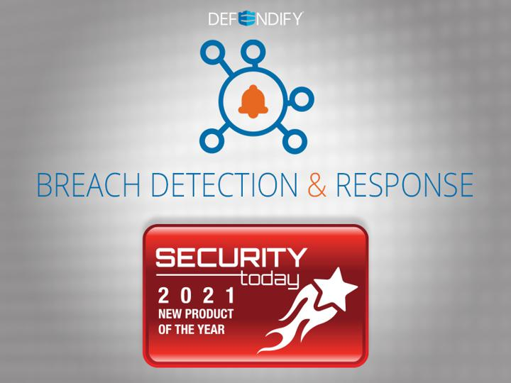 Security Today 2021 New Product of the Year | Defendify