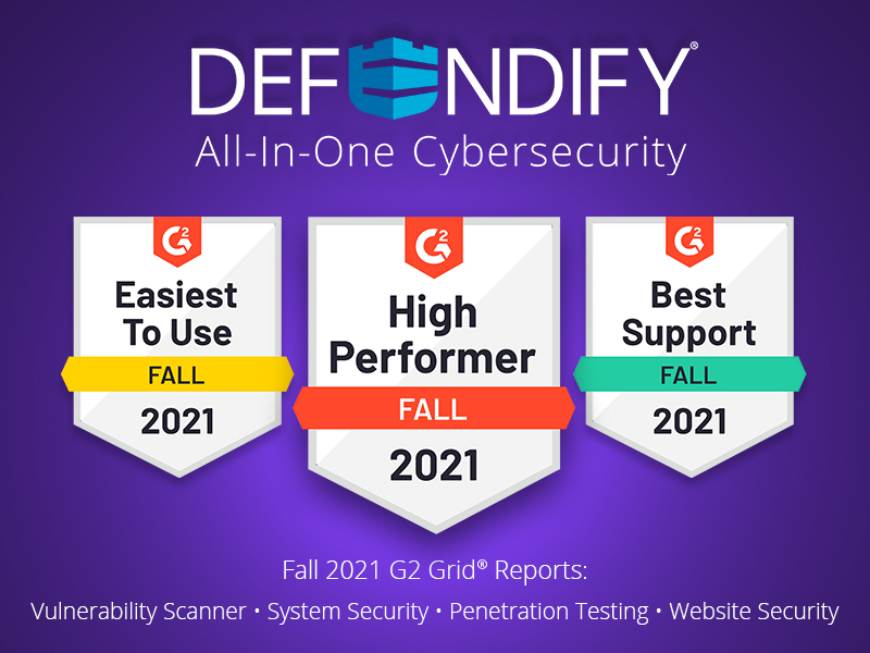 Defendify Features are High Performers on Fall 2021 G2 Grid