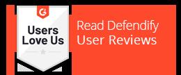 Read Defendify User Reviews