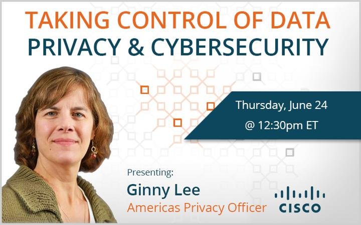 Taking Control of Data Privacy and Cybersecurity