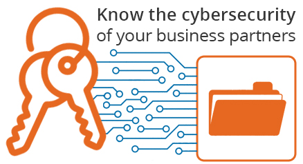 Know the cybersecurity of your business partners