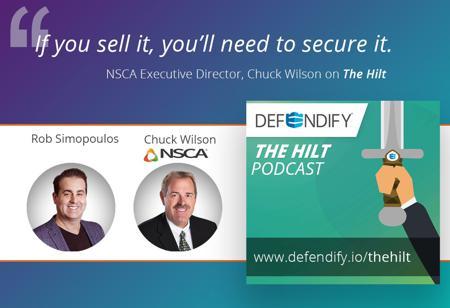 NSCA's Chuck Wilson on The Hilt podcast