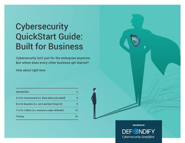 Cybersecurity QuickStart Guide