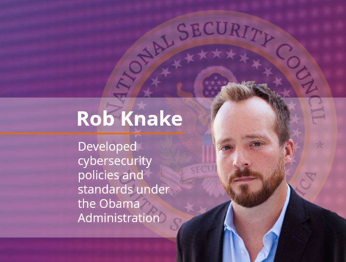 Rob Knake | Let cybersecurity policy creation under  U.S. President, Barak Obama
