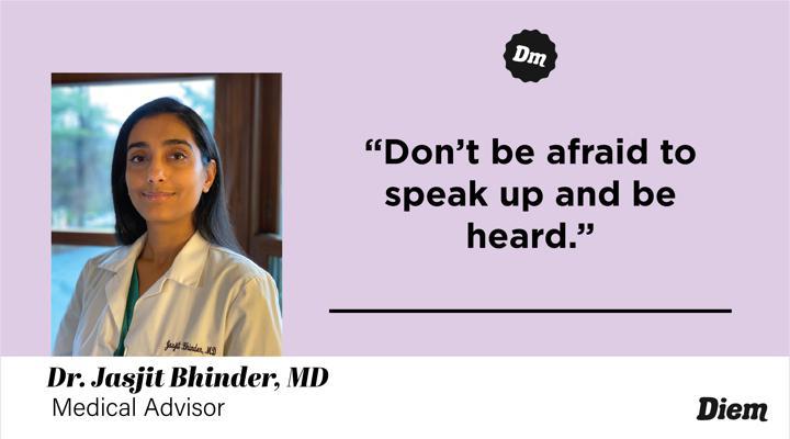 Jasjit Bhinder, MD, ger to know Diem's medical advisor