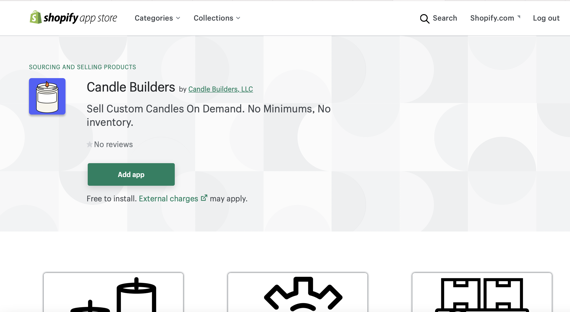 Add Candle Builders APP