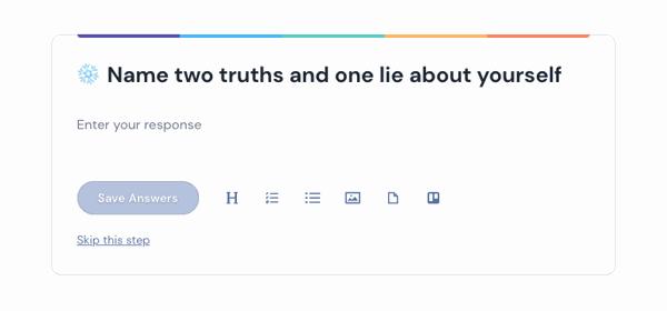 2 Truths