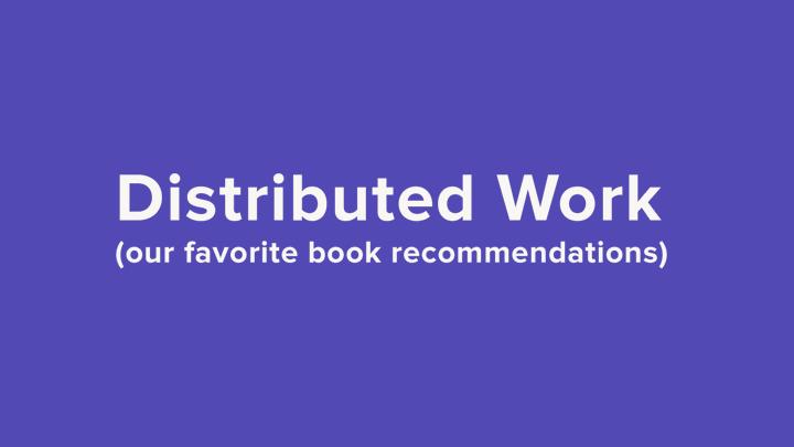 Best books - remote work