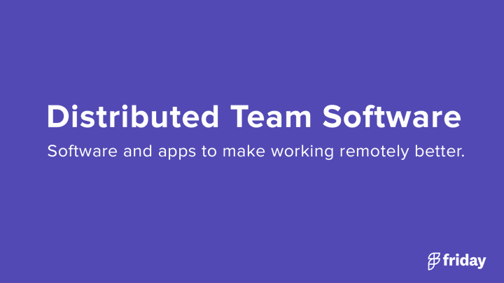 Best Software Remote Teams