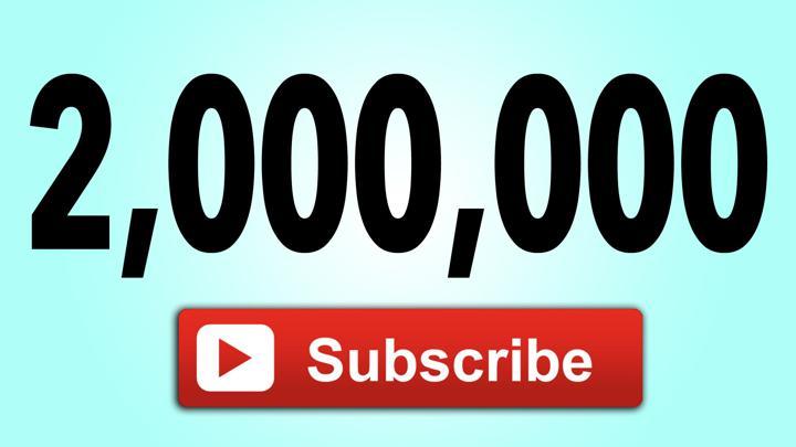 2,000,000 Subsciber's