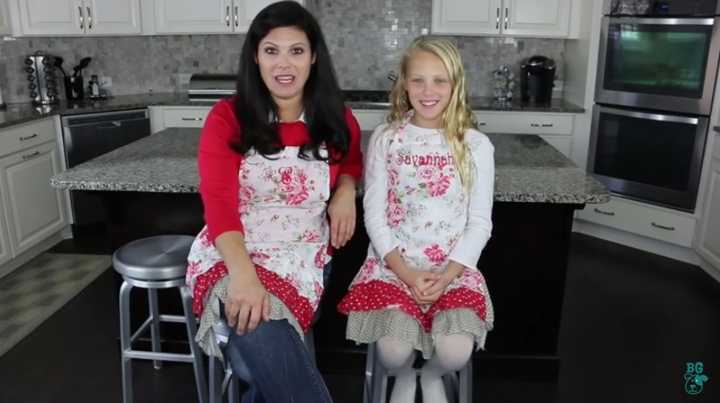 Mommy & Me Baking Video with BabyGizmo